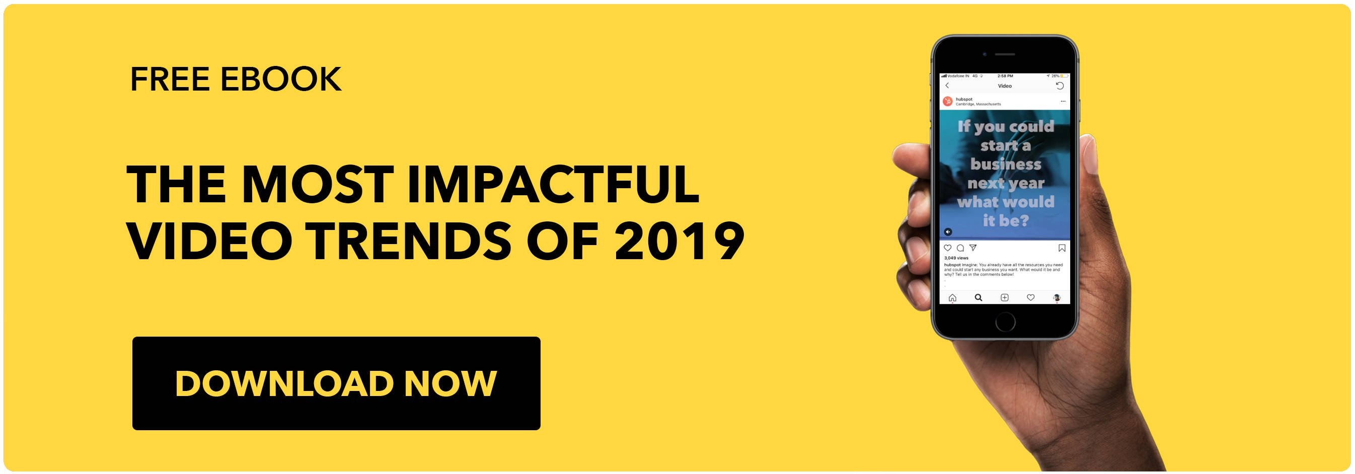 the most impactful video trends of 2019 - download free ebook